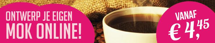Goedkoop koffiekopjes bedrukken bij DesignOntwerpen