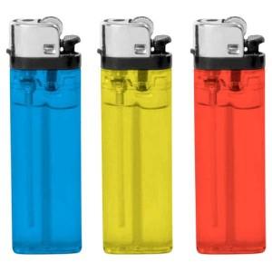 Aansteker transparant - 2 kanten bedrukt - Aansteker ontwerpen - DesignOntwerpen