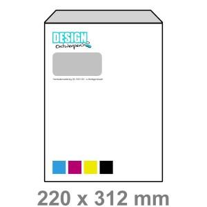 EA4 Enveloppen met venster links - Enveloppen - DesignOntwerpen
