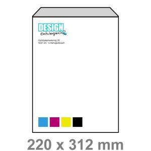 EA4 Enveloppen zonder venster - Enveloppen - DesignOntwerpen