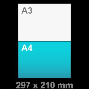 A4 Flyers liggend - Flyer maken - liggend - DesignOntwerpen
