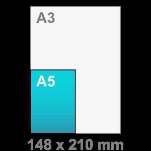 A5 Flyers - Flyer maken - staand - DesignOntwerpen