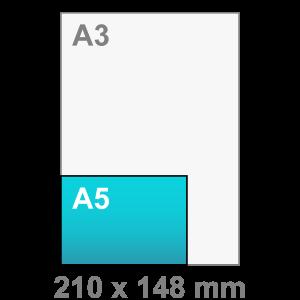 A5 Flyers liggend - Flyer maken - liggend - DesignOntwerpen