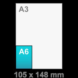 A6 Flyers - Flyer maken - staand - DesignOntwerpen