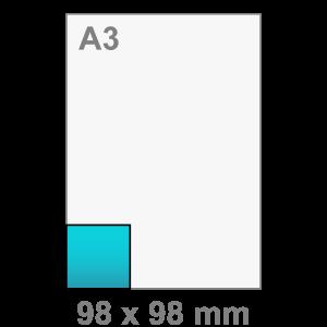 Flyers vierkant klein - Flyer printen - DesignOntwerpen