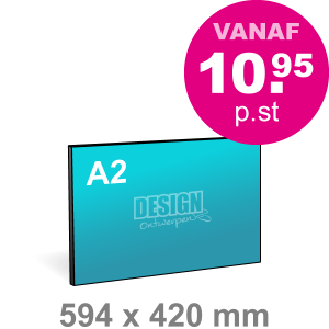 A2 Foamboard - liggend - Foamboarden - DesignOntwerpen