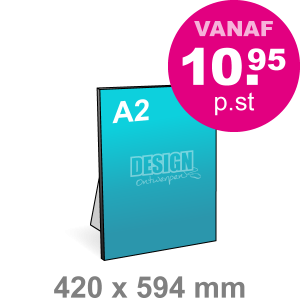 A2 Foamboard - staand - Foamboarden - DesignOntwerpen