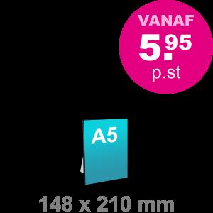 A5 Foamboard - staand - Foamboarden - DesignOntwerpen