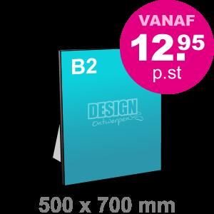 B2 Foamboard - staand - Foamboarden - DesignOntwerpen