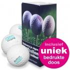Giftset Golfballen 3 stuks + bedrukt doosje