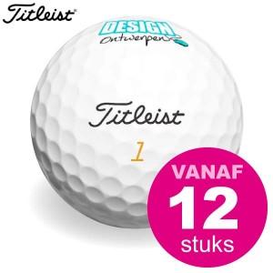 Golfbal bedrukken - Titleist Mix AA klasse - Golfballen - DesignOntwerpen