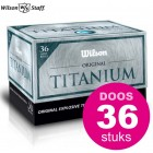 Wilson Original Titanium - doos à 36 stuks