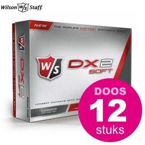 - Wilson Staff DX2 Soft - doos à 12 stuks