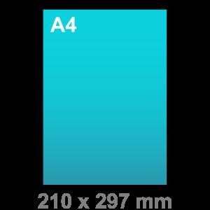 A4 kaart - staand - Kaart maken - staand - DesignOntwerpen