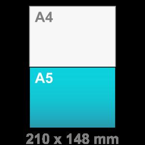 Kaart maken - liggend - A5 kaart - liggend