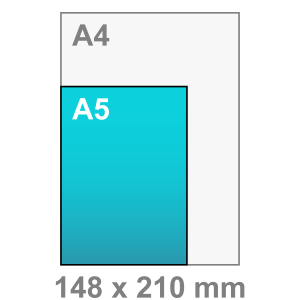 Kaart maken - staand - A5 kaart - staand
