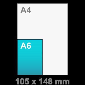 Kaart maken - staand - A6 kaart - staand