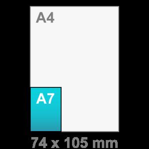Kaart maken - staand - A7 kaart - staand