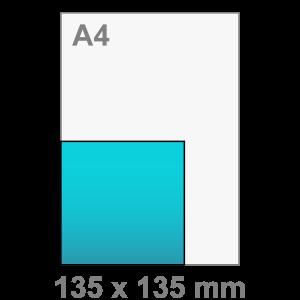 Kaart maken - vierkant - Vierkant kaart - middel