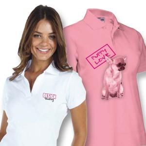 Dames Polo bedrukken: Voorkant op de borst - Polo s - DesignOntwerpen