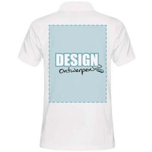 Poloshirt bedrukken: Achterkant - Polo s - DesignOntwerpen