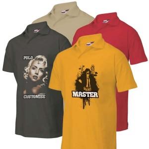 Poloshirt bedrukken: Voor- en achterkant - Polo s - DesignOntwerpen