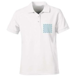 Poloshirt bedrukken: Voorkant op de borst - Polo s - DesignOntwerpen