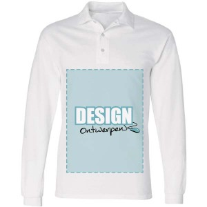 Polosweater bedrukken: Voorkant - Sweaters - DesignOntwerpen