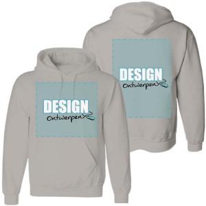 Hoodie bedrukken: Voorkant + achterkant - Sweaters - DesignOntwerpen
