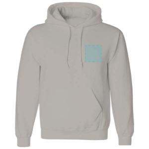 Hoodie bedrukken: Voorkant op de borst - Sweaters - DesignOntwerpen