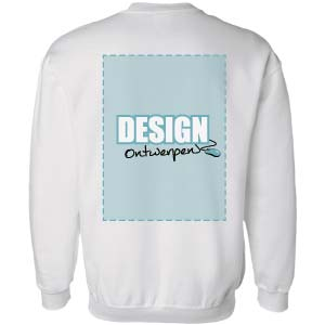 Sweater bedrukken: Achterkant - Sweaters - DesignOntwerpen