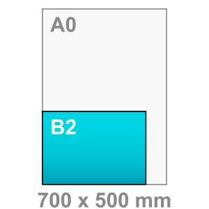 B2 Poster - liggend - Poster maken - liggend - DesignOntwerpen