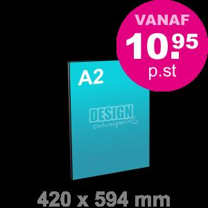 A2 Reclamebord maken - staand - Reclamebord maken - DesignOntwerpen