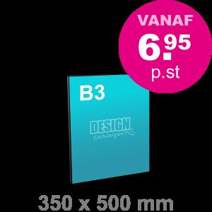 B3 Reclamebord maken - staand - Reclamebord maken - DesignOntwerpen