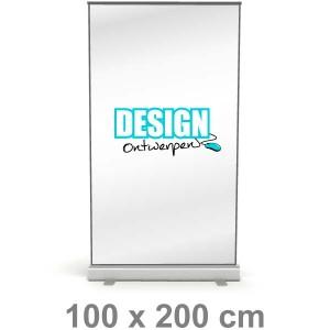 Roll-up banner - Medium - Roll-up banner - DesignOntwerpen