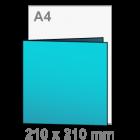 Uitnodigingen - vierkant 210x210 mm
