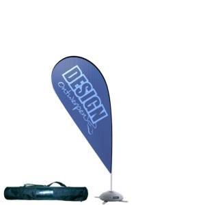 Dropflag small 80x165 cm - Beachflag ontwerpen - DesignOntwerpen
