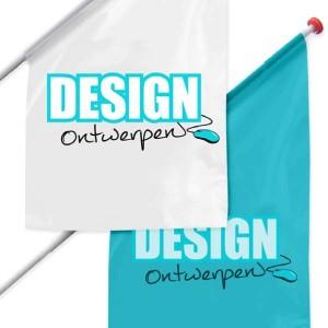 Kioskvlag 50x100x150 cm - Kioskvlag ontwerpen - DesignOntwerpen
