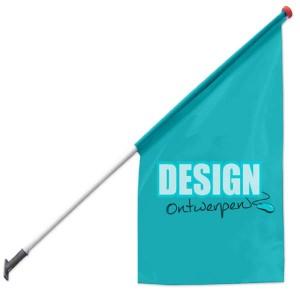 Kioskvlag 75x75x150 cm - Kioskvlag ontwerpen - DesignOntwerpen