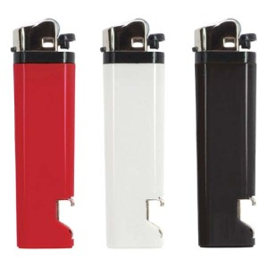 Aansteker met opener - 1 kant bedrukt - Aansteker ontwerpen - DesignOntwerpen