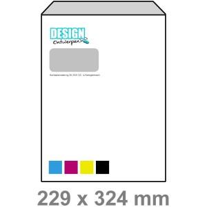 C4 Enveloppen met venster links - Enveloppen - DesignOntwerpen