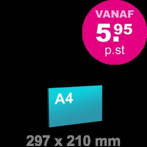 A4 Foamboard - liggend - Foamboarden - DesignOntwerpen