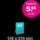 A5 Foamboard - staand