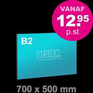 B2 Foamboard - liggend - Foamboarden - DesignOntwerpen