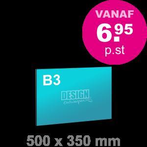 B3 Foamboard - liggend - Foamboarden - DesignOntwerpen