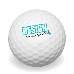 Blanco golfballen bedrukken