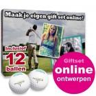 Giftset Golfballen Pinnacle 12 stuks + bedrukte doos