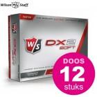 Wilson Staff DX2 Soft - doos à 12 stuks