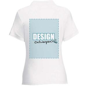 Dames Polo bedrukken: Achterkant - Polo s - DesignOntwerpen