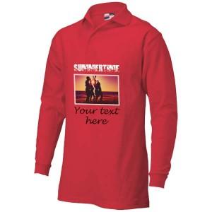 Polosweater bedrukken: Voorkant + achterkant - Sweaters - DesignOntwerpen